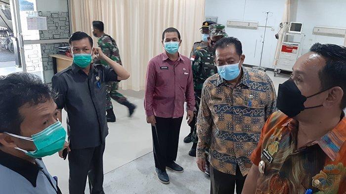 Tim Gugus Tugas Covid-19 Kabupaten Sambas Tinjau RSUD Sambas
