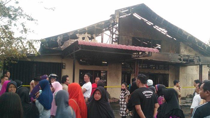 Satu Rumah di Gang Langgar Ali Terbakar, Berikut Kesaksian Warga Sekitar