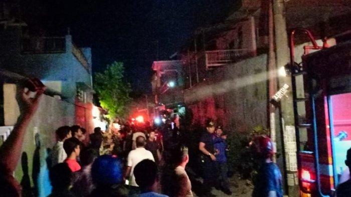 Tiga Rumah Warga Hangus Terbakar, Polisi Menduga Pemicunya dari Lilin