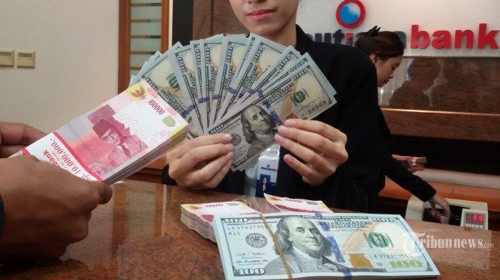 Rupiah Menguat, Harga Jual Capai Rp 14.591 hingga Rp 14.574 per Dolar AS