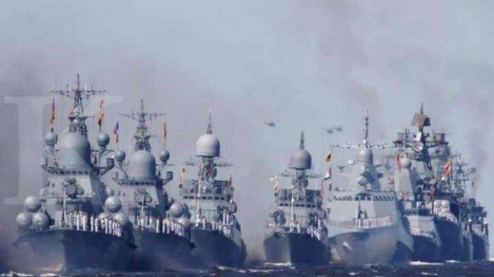 RUSIA Tantang Amerika Serikat ! Sebut Sebagai Musuh, Desak Kapal Perang AS Enyah dari Krimea Ukraina