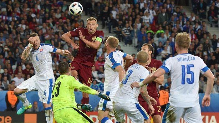 Russia vs Slovakia: Live Streaming Kualifikasi Piala Dunia Zona Eropa Malam Ini di Mola TV
