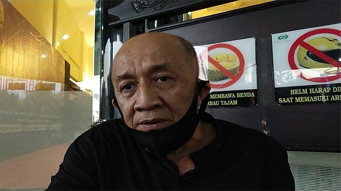 Ketua Perguruan Pencak Silat Rajawali Putih Kalimantan Barat Ir. Rustammy Atmo, saat mengikuti musyawarah provinsi IPSI Kalbar, Sabtu 21 November 2020.