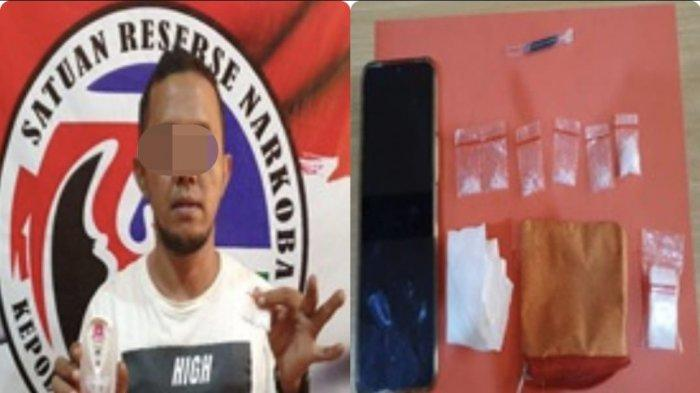 Tersandung Kasus Sabu, Warga Desa Limbung Ditangkap Jajaran Polres Kubu Raya