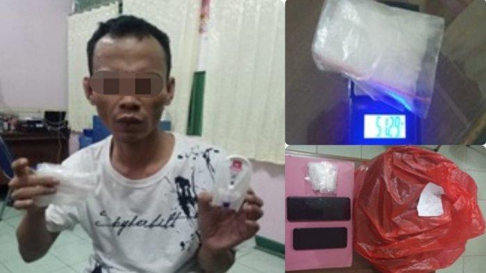 Warga Melawi Ditangkap Polisi Saat Masukkan Narkoba ke Lapas Kelas II A Pontianak