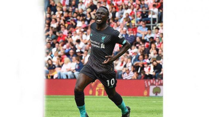 Hasil Southampton Vs Liverpool & Klasemen Liga Inggris, Sadio Mane Ukir Rekor Samai Sergio Aguero