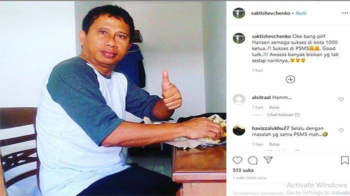 UPDATE PSMS Medan - Saktiawan Sinaga Beri Kode Philip Hansen Pelatih Ayam Kinantan, Posting Foto