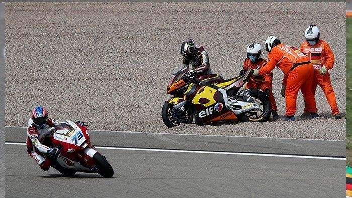 LIVE HASIL Moto2 Jerman Hari Ini & Race MotoGP Jerman Mulai Pukul 19.00 WIB, Update Klasemen Moto2