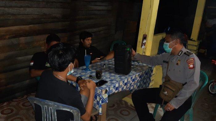 Putus Mata Rantai Covid-19, Personel Polsek Samalantan Imbau Masyarakat Taati Prokes