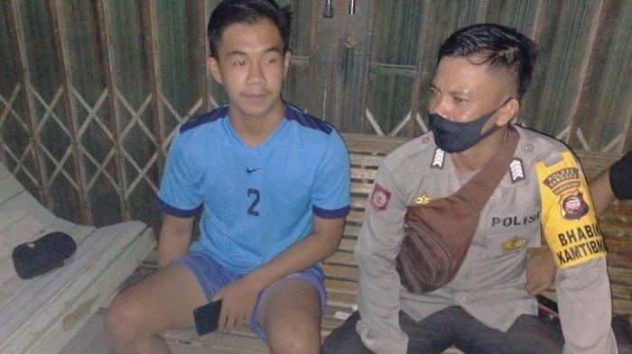 Sambangi Warga Binaan, Bripka Hendra Irawan Imbau Waspada Covid-19