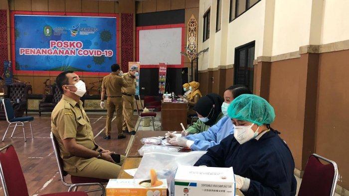 Dinkes Kalbar Swab Test Ratusan Pejabat Eselon II dan III Pemprov Kalbar