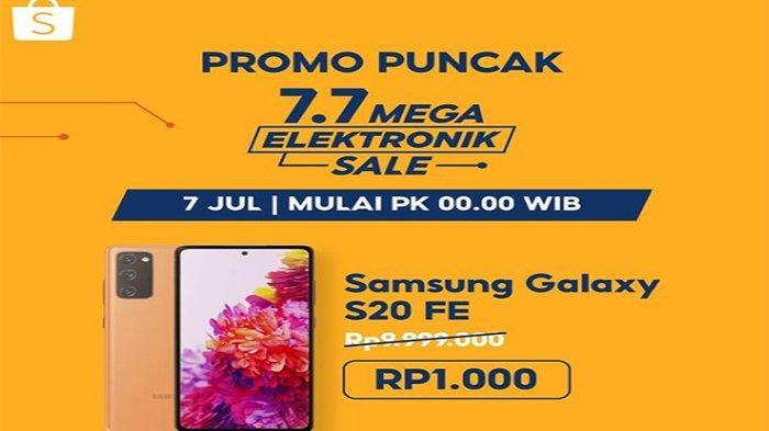 Tips Menang Flash Sale Shopee 7.7 Mega Elektronik Sale