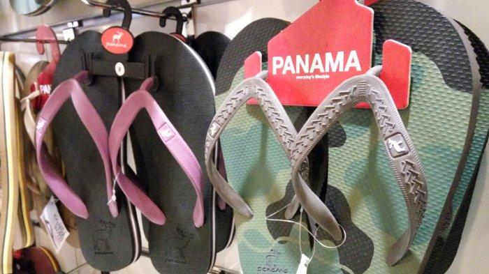 Unik, Seperti Ini Wujud Sandal Panama di Megamal