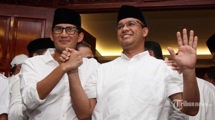 Anies-Sandi Resmi Pimpin Jakarta, Pengamat: Sudahi Perang Urat Syaraf