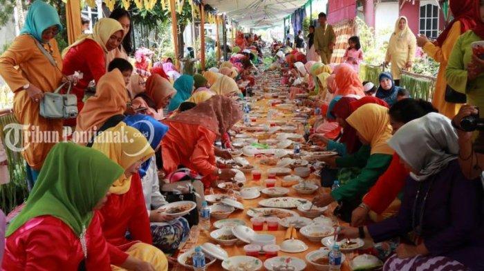 9 WARISAN Budaya Tak Benda Tahun 2019 di Kalbar, Asam Pedas Hingga Saprahan Sambas