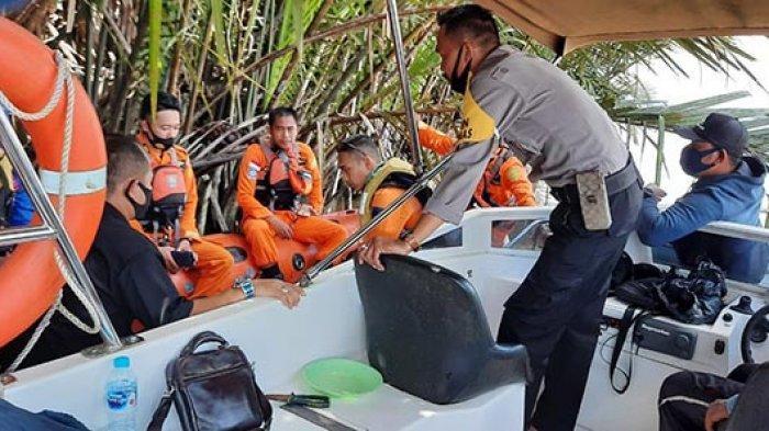 Speed Boat Terbakar di Perairan Kuala Punggur,Balita Perempuan Belum Ditemukan