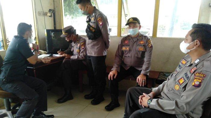 Kanit Binkamsa Lakukan Pembinaan Satpam sebagai Kepanjangan Tangan Tugas Pengamanan di Wilayah