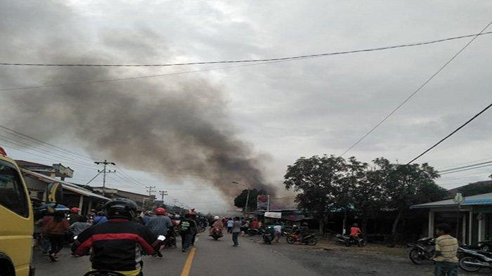 Satu Unit Rumah di Tebas Ludes Terbakar