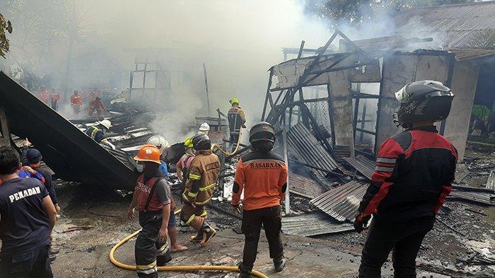 Baru Ditinggal Setengah Jam, Reda Terkejut Rumah Neneknya Terbakar