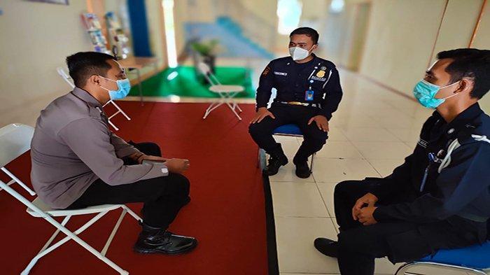 Jalin kemitraan, Kanit Binmas Polsek Bengkayang Sambangi BNNK Bengkayang