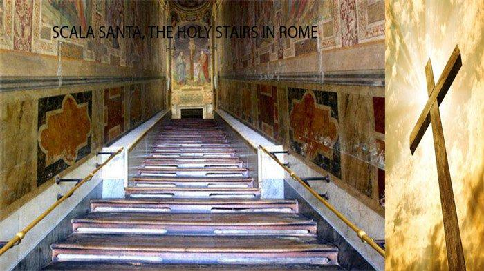 Scala Santa di Roma: Tangga Suci dan Tetes-tetes Darah Yesus