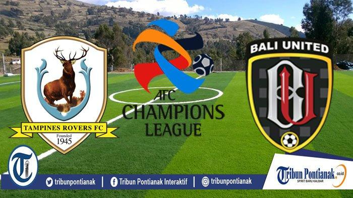SCORE LIVE Tampines Vs Bali United Kualifikasi Liga Champions Asia, Selasa (14/1/20) Pukul 18.30 WIB