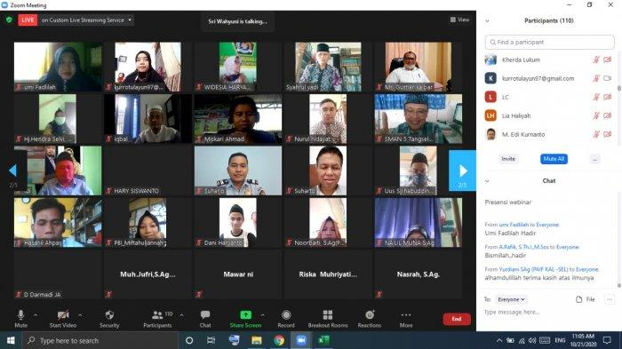 Peringati Hari Santri, Tokoh Kalbar Apresiasi Webinar Pendiri TQN Syekh Ahmad Khatib As-Sambasy