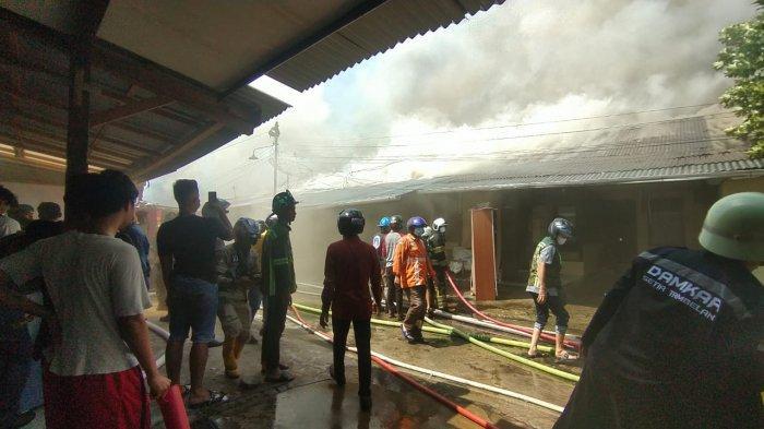 Lima Unit Rumah Asrama Polisi Terbakar, Kapolresta Pontianak Pastikan Tidak Ada Korban Jiwa