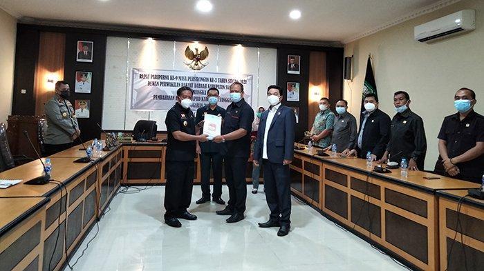 Bupati Sanggau Sampaikan Nota Pengantar KUA PPAS APBD Kabupaten Sanggau Tahun Anggaran 2022