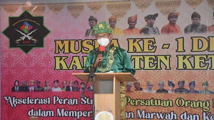 Hadiri Musda I DPD POM Ketapang, Farhan Minta Bangun Komunikasi dengan Masyarakat dan Pemda