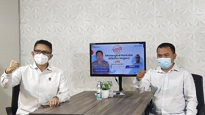 EKSKLUSIF Direktur Reserse Narkoba Polda Kalbar Beberkan Peredaran Narkoba Asal Malaysia