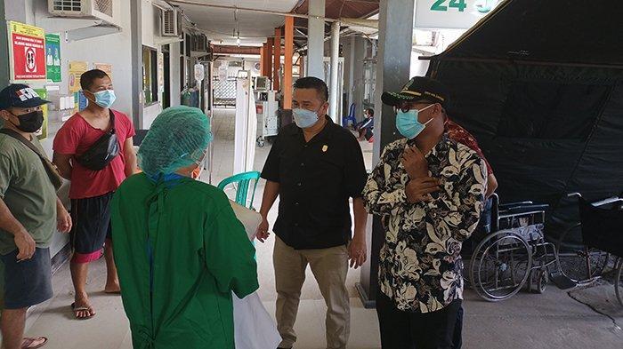 DPRD Sidak Ke RSUD Sambas, Pantau Ketersediaan Oksigen Hingga Bed Occupancy Rate Covid-19