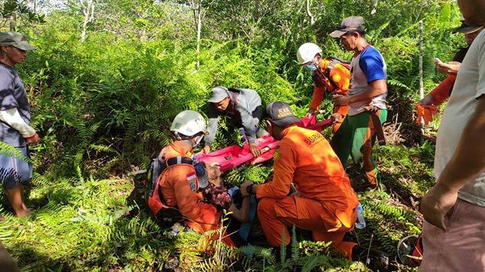 Tiga Hari Tersesat di Hutan Saat Mencari Sayur, Nenek Salmah Ditemukan Selamat oleh Petugas Gabungan