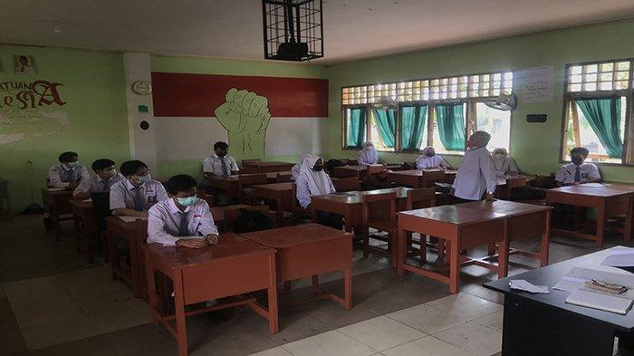 SMKN 3 Pontianak Mulai Pembelajaran Tatap Muka, Jadwal Masuk Dibagi Dua Sesi