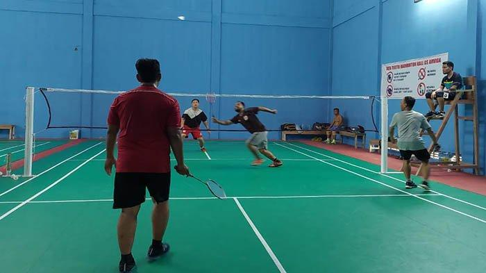 Jaga Imunitas dengan Bermain Badminton di GS Hall Arviga Ujung Pandang Kota Pontianak