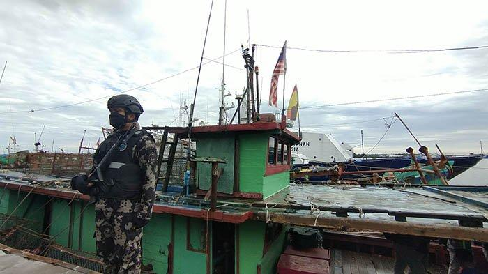 Lakukan Ilegal Fishing, KKP Amankan 12 kapal Asing dari Tiga Negara Tetangga