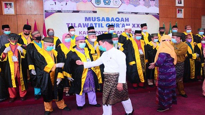 Bupati Satono Buka Perhelatan MTQ Ke-30 Kabupaten Sambas