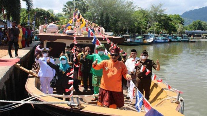 Kadishub Kayong Utara Sebut Kapal Perintis Sukadana ke Padang Belum Dikenakan Tarif