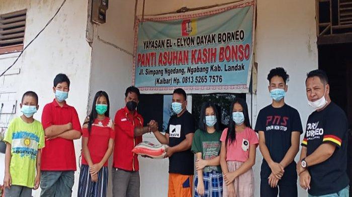 Selama Dua Hari, DPC TBBR Landak Salurkan Bantuan di Tiga Kecamatan