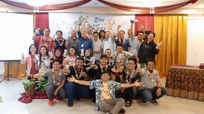 Sebanyak 14 Karyawan Tribunnews Menjadi The Best Employee Tahun 2019