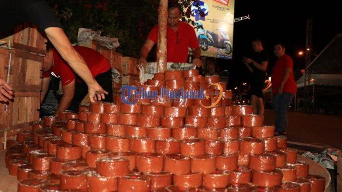 Kue Keranjang Seberat 2 Ton Akan Semarakkan Perayaan Imlek dan Cap Go Meh di Pontianak