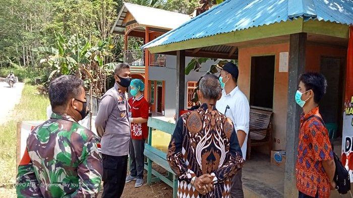 Bupati Darwis Monitoring Kesiapan Posko Covid-19 Kecamatan Ledo