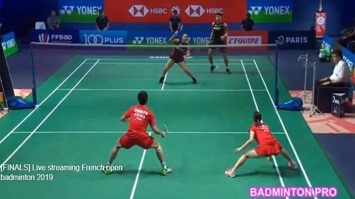 HASIL Final French Open 2019 | Praveen/Melati Vs Zheng/Huang Ketat, Indonesia Amankan Satu Gelar