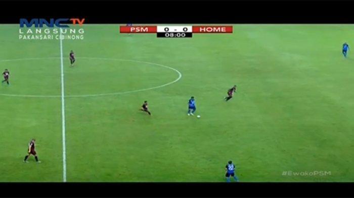 SEDANG BERLANGSUNG Live Streaming PSM Makassar Vs Home United AFC CUP 2019, Kedua Tim Saling Serang