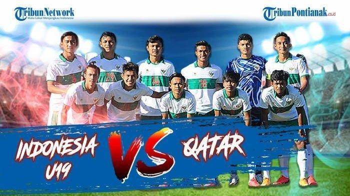 SEDANG BERLANGSUNG Live Streaming Timnas Indonesia U19 Vs Qatar Cara Nonton Gratis di NetTV & MolaTV