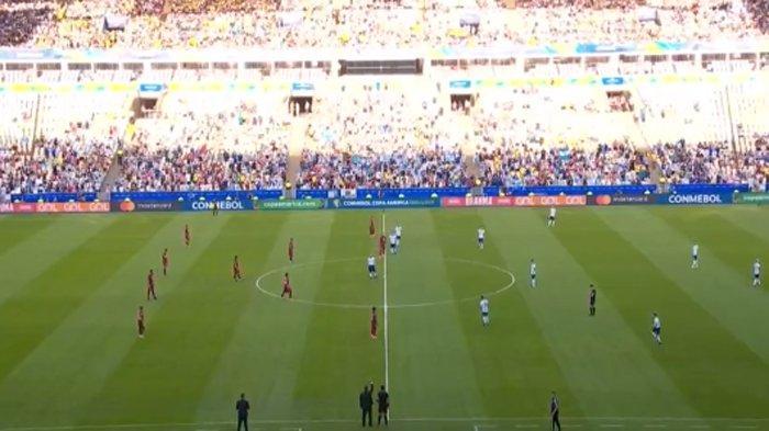 SEDANG BERLANGUNG Argentina Vs Venezuela | Messi Cs Tampil Menyerang di Perempat Final Copa America