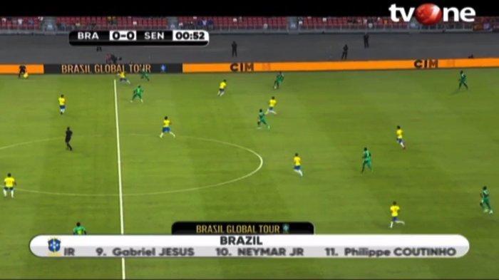 Sedang LIVE Brazil Vs Senegal LIVE tvOne & LIVE Streaming tvOne Connect | Cek Hasil di LIVE SCORE
