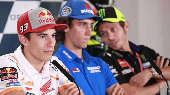 Sedang LIVE! FP1 MotoGP San Marino 2019 - Alex Rins, Rossi dan Marquez Berebut Pole Position