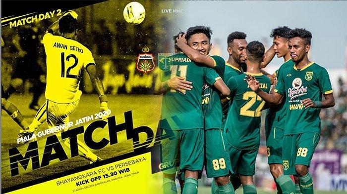 SEDANG Live MNCTV Live Streaming Bhayangkara Vs Persebaya Piala Gubernur Jatim 2020, Aksi Saddil