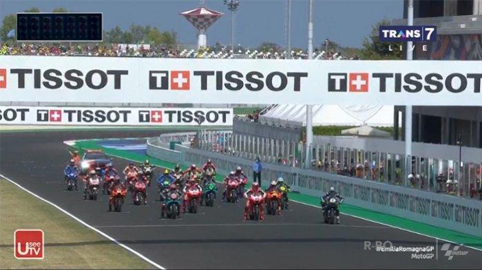 Www.trans7.co.id Live Streaming MotoGp Sedang Live Race MotoGp Emilia Romagna 2020, UseeTv Trans7